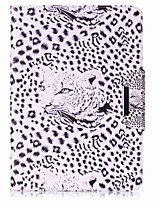 Leopard Pattern Card Holder Wallet with Stand Flip Magnetic PU Leather Case for Samsung GALAXY Tab A 9.7 T550 T555 9.7 inch Tablet PC