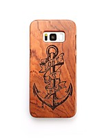 Case For Samsung Galaxy S8 Plus S8 Shockproof Pattern Back Cover Anchor Hard Wooden for S8 Plus S8 S7 edge S7 S6 edge plus S6 edge S6 S6