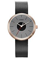Жен. Модные часы Кварцевый Защита от влаги сплав Группа Серебристый металл