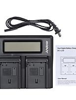 andoer en-el15 cargador de batería de doble cámara digital con pantalla lcd para nikon d500 d610 d7000 d7100 d750 d800 d810 d7200