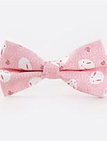 Men's Rayon Cotton Blend Bow TiePattern Print All Seasons