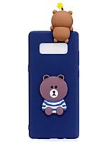 Custodia Per Samsung Galaxy Note 8 Fantasia/disegno Fai da te Custodia posteriore Cartoni animati Fantasia