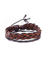 Men's Women's Leather Bracelet Friendship Punk PU Waves Jewelry For Daily Casual Stage Office & Career Street