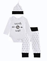 Baby Boys' Indoor Birthday Outdoor Daily Print Clothing Set