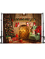 Photo Backdrops 5x7ft Vinyl Beautiful Christmas Drawing Photography Backgrounds
