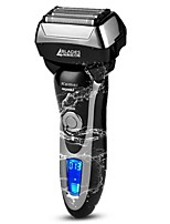 kemei km5568 моющаяся электробритва быстрая зарядка полностью моющаяся для тела поршневая электробритва четыре лезвия бритья для мужчин