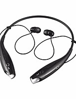 hbs-730 in ohr nackenband kopfhörer dynamische kunststoff handy kopfhörer mit mikrofon mit lautstärkeregler headset
