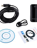 10MM Lens WIFI Endoscope USB Camera 5M Cable Waterproof IP67 Inspection Borescope Android IOS PC Snake Wireless Cam