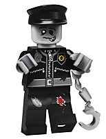 Building Blocks Block Minifigures Toys Ghost People Non Toxic Easter DIY Classic Holiday Kids Adults' 1 Pieces