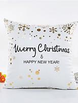 1 pezzi Altro Copricuscino,Frasi famose Fiocco di neve Stile Natale