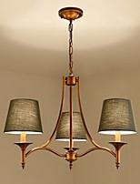 Pastoral Style Flush Mount For Bedroom Dining Room Indoor 220V 110VV Bulb Not Included