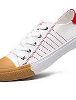 Men's Shoes PU Spring Fall Comfort Sneakers For Casual White/Green Red