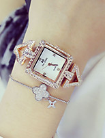 Women's Fashion Watch Simulated Diamond Watch Unique Creative Watch Japanese Quartz Water Resistant / Water Proof Colorful Stainless Steel