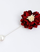 Women's Brooches Jewelry Personalized Alloy Flower Jewelry For Party Halloween Casual