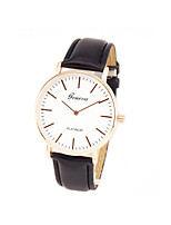 Men's Women's Wrist watch Fashion Watch Casual Watch Quartz PU Band