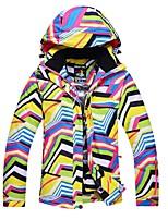 Per donna Giacca da sci Tenere al caldo Antivento Sci Sci Sport invernali