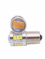 2pcs dc9v-30v ha condotto la luce del freno 1156 1141 bulbo principale 5630 18smd ha condotto la luce di arresto ha condotto la luce rossa