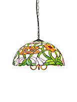 Diameter 40cm Tiffany Pendant Lights Glass Lamp Shade Living Room Bedroom Dining Room light Fixture