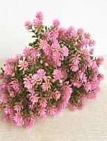 22cm 10 pcs 5 feuilles / pc décoration de la maison fleurs artificielles cambomba caroliniana
