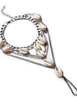 Women's Anklet/Bracelet Alloy Cute Style Fashion Circle Geometric Jewelry For Wedding Birthday