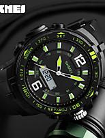 SKMEI Per uomo Orologio sportivo Orologio digitale Digitale Calendario Cronografo Resistente all'acqua Due fusi orari allarme Cronometro