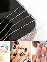 4 Nail Art Decoration Rhinestone Pearls Makeup Cosmetic Nail Art Design