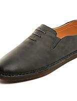 Homme Chaussures Cuir Printemps Automne Confort Mocassins et Chaussons+D6148 Pour Décontracté Noir Beige Marron
