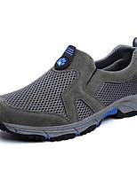 Chaussures de Course Chaussures de montagne Homme Antidérapant Etanche Vestimentaire Respirabilité Sport de détente Basses Vrai cuir Tulle