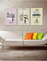 The Necessary Fine Shop Wall Art 3-Piece Modern Artwork Wall Art for Room Decoration 20x28inchx3