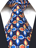 Men's Silk Neck Tie,Pattern Rainbow All Seasons