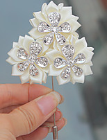 Wedding Flowers Boutonnieres Wedding Polyester 2.76