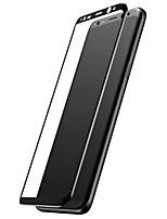 Protector de pantalla para Samsung Galaxy S8 Vidrio Templado Protector de Pantalla Frontal Borde Curvado 3D Alta definición (HD) Dureza