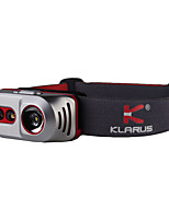 KLARUS Titanium H1A LED Flashlights / Torch LED 550 lm Manual Mode CREE XP-E2 R2 CREE XP-L V6 CREE XP-E2 P2 Portable Professional