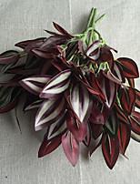 30cm 3 Pcs Home Decoration Artificial Green Plants Leaves