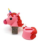 64Gb USB 2.0 Cartoon Unicorn Horse Usb Flash Drive Disk Cute Memory Stick Pen Drive Gift Pen Drive