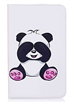 Panda Pattern Card Holder Wallet with Stand Flip Magnetic PU Leather Case for Samsung Galaxy Tab E 8.0 T377 T377V 8.0 inch Tablet PC