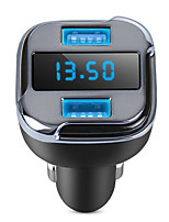 GPS Locator Car Hunter Car Charger Dual USB Phone Charger APP Remote Car Location Detector with LED Display for Iphone Samsung
