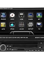 7 polegadas 1dc lcd touch screen digital painel dvd player dvd player bluetooth. tela estéreo radio.rds.touch