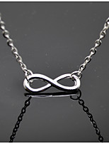 Women's Pendant Necklaces Infinity Alloy Metallic Fashion Jewelry For Daily Casual
