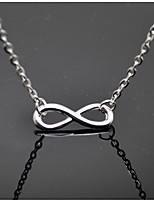 Жен. Ожерелья с подвесками бесконечность Сплав Бижутерия Назначение Повседневные