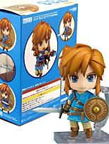 Figures Animé Action Inspiré par The Legend of Zelda Link PVC 10 CM Jouets modèle Jouets DIY