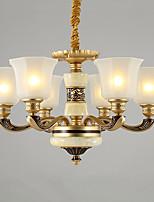 Traditionnel/Classique Lustre Pour Salle de séjour Salle à manger AC 100-240 AC 110-120V Ampoule non incluse