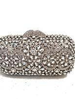 Damen Taschen Ganzjährig Metall Abendtasche Kristall Verzierung für Hochzeit Veranstaltung / Fest Formal Silber