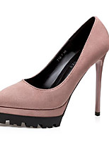 Women's Shoes Patent Leather Spring Fall Comfort Basic Pump Heels For Casual Black Gray Red Camel Almond