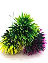 3Pcs Artificial Pine nut long 20CM flower with diameter of 10CM 3 colorHome Decoration