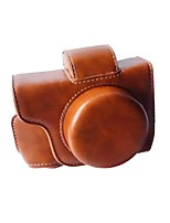 EM10II Camera Case(Crazy Horse Leather)12x11x7cm for Olympus EM10II Mini DSLR Camera