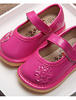 Girls' Shoes Leatherette Winter First Walkers Sneakers For Casual Blushing Pink Fuchsia White