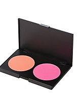 1pc 2 Colors Blush Matte Blush Plate Natural Face Daily China Cosmetic Beauty Care for Face Makeup