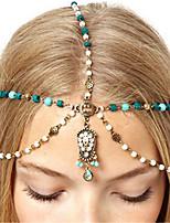Da donna Primavera/Autunno Per tutte le stagioni Lega Diamantino Perle di imitazione Vintage Boho Catenina,Perle finte Strass Acrilico