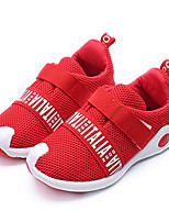 Girls' Shoes Breathable Mesh Spring Fall Comfort Sneakers For Casual Black Gray Red